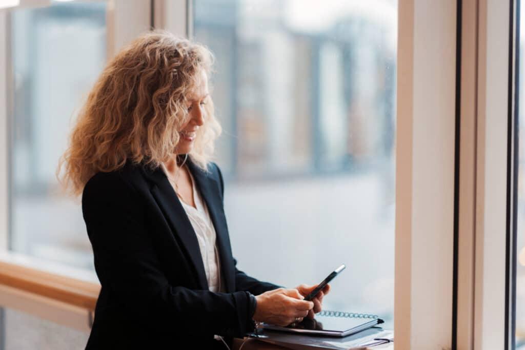 Vibeke hjelper bedrifter og private personer med coaching